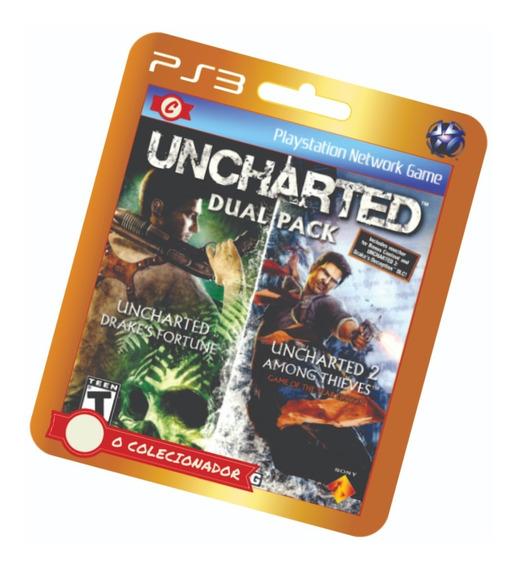 Uncharted 1 + 2 Dual Pack Em Oferta! Ps3