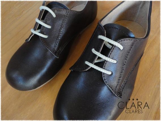 Zapato De Nene Calzado De Niño Cuero Vestir Fiesta 22 Al 26