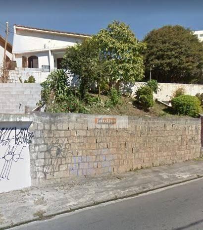 Terreno À Venda, 300 M² Por R$ 590.000 - Bairro Jardim - Santo André/sp - Te0783