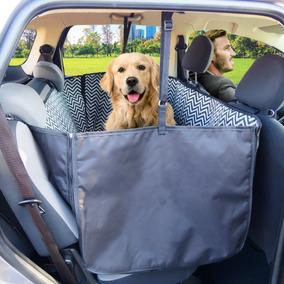 Capa Pet Plus Forrada Impermeável Cães No Carro + Guia Carro