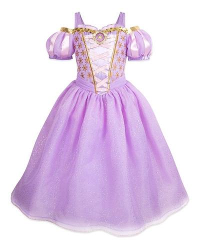 Imagen 1 de 1 de Disfraz Rapunzel Original Disney Store Americano