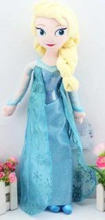 Peluche De Elsa Frozen De 50cm Hermoso