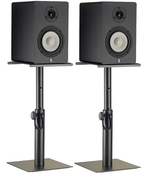 Base Suporte Monitor Referência Yamaha Krk Edifier Par Stagg