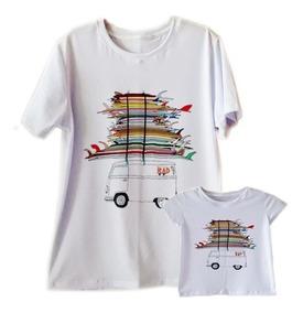 Kit 2 Camiseta Dia Dos Pais Tal Pai Filho Filha Viagem Praia
