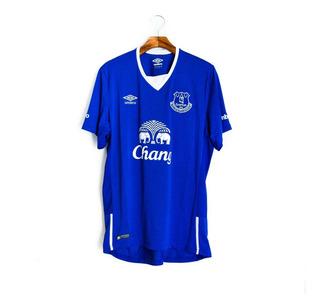 Camisa De Futebol Masculino Everton 2015/16 Umbro
