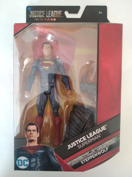 Superman Dc Multiverse Baf Steppenwolf Liga De La Justicia