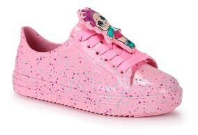 Tênis Meninas Da Lol Grendene Infantil Colors Rosa
