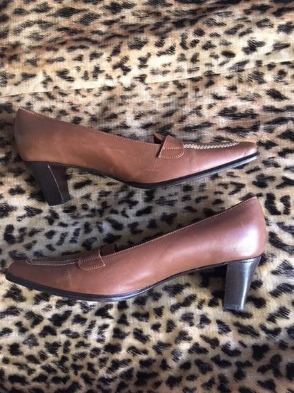 Zapatos Taco Color Suela , Modelo De Hacksley 37