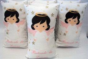 25 Almofadas Personalizada Lembrancinhas Batizado Chá Bebe