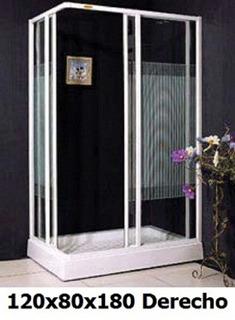 Shower Door / Cabina De Ducha 120x80x180cm Nuevas. 10% Dcto.