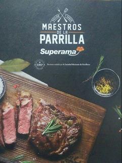 Maestros De La Parrilla/edición Especial Limitada/recetario.