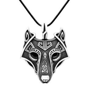 Colar Pendente Lobo Wolf Raposa Viking Nórdico Thor Odin