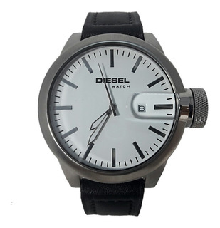 Reloj Diesel Hombre 6630 013 Acero Cuero Fecha Wr 50 Lupa
