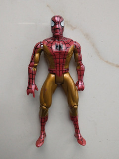 Spiderman Dorado Gold Marvel Toybiz 2000