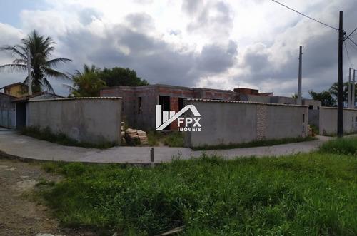 Casa Em Construção No Cibratel Ii Em Itanhaém - Ref Ca340-f