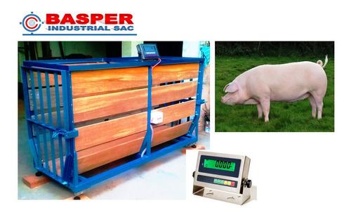 Balanzas Para Cerdos Porcinos Ovejas Ovinos Cabras Caprinos