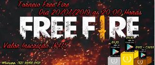Torneio Solo Free Fire Dia 20/07