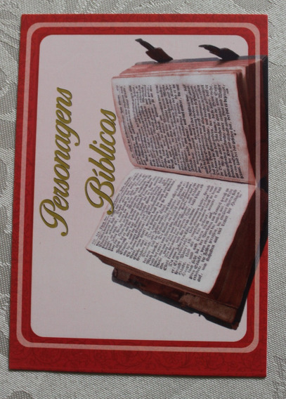 Baralho Bíblico