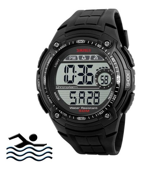Relógio Masculino Skmei 1203 Militar Digital Analógico Esportivo Prova D