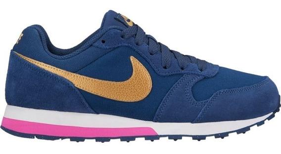 Tênis Feminino Nike Md Runner 2 Gs 807319-406