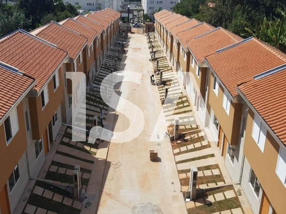 Casa Venda, Condomínio Ecco Ville Sorocaba, Horto Florestal, Sorocaba, 2 Dormitórios, Sala 2 Ambientes, Cozinha, Quintal Privativo, Garagem 1 Vaga - Cc01737 - 4944791