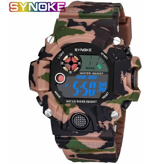 Relógio Masculino Synoke 9448 Digital A Prova D