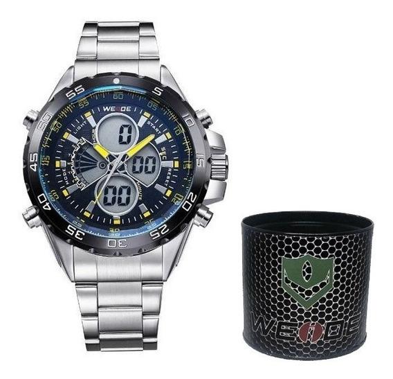 Relógio Masculino Esportivo Weide Pesado Original Dj0076