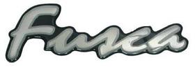 Emblema Resinado Fusca Prata