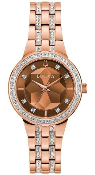 Relógio Bulova Feminino Phantom 98l266 Swarovski