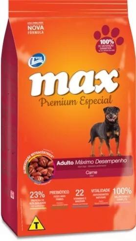 Ração Total Max Desempenho Carne Adultos 20kg