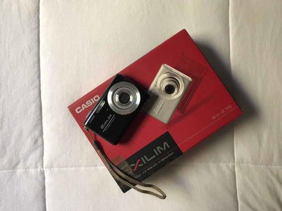 Câmera Casio Ex-z75 Preta 7.2 Mega Pixels