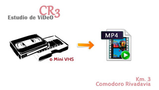 Pasar Cassette Vhs A Mp4 O Dvd 2 Horas Video En Alta Calidad