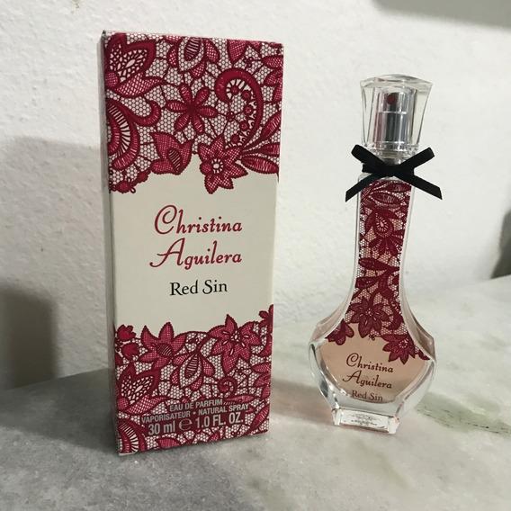 Perfume Christina Aguilera Red Sin Edp Feminino Original
