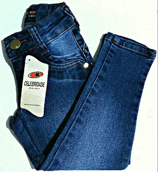 Calça Jeans Infantil Feminina Lycra