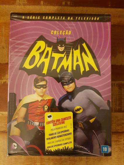 Box Batman 120 Episódios 18 Dvds Com Batmovel De Brinde
