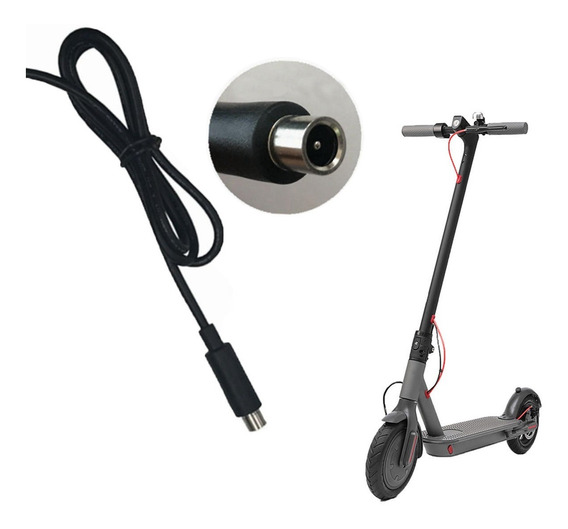 Cable Cargador Repuesto Monopatin Scooter Xiomi Foston Mobo