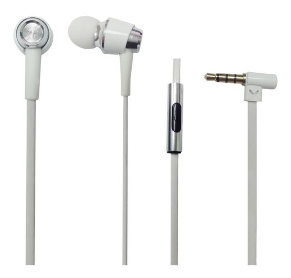 Fone De Ouvido Intrauricular C/microfone Eh600 Branco Proel