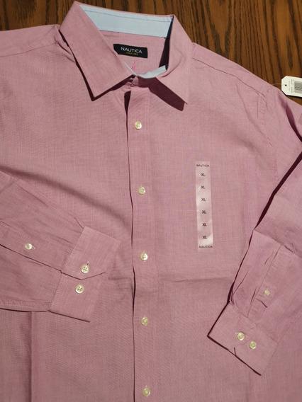 Camisa Nautica Xl Nueva Original (no Polo, Shark)