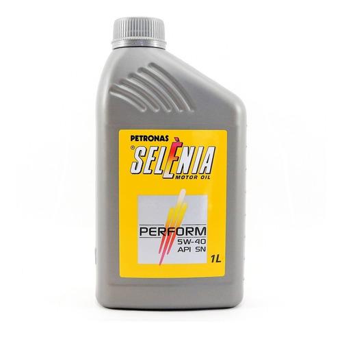 Imagem 1 de 2 de Oleo De Motor 5w40 Petronas Selenia Performance Api Sm 1lt