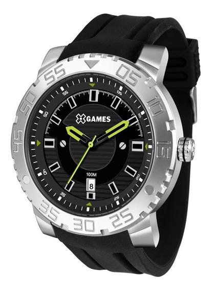 Relógio X Games Masculino Ref: Xmsp1010 P2px Big Case