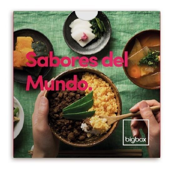 Cenas Sabores Del Mundo Regalos Bigbox