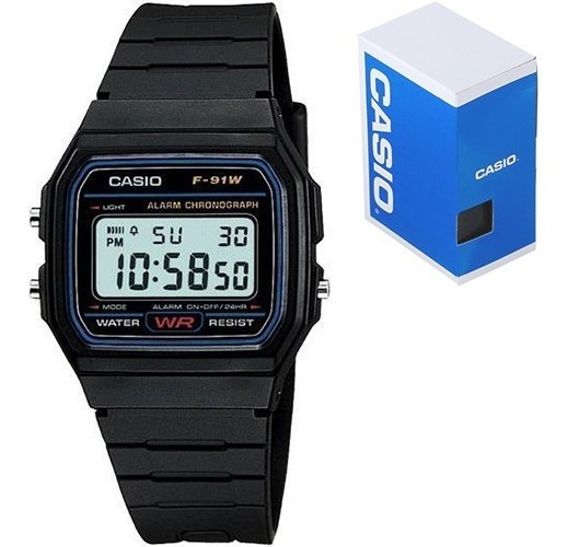 Reloj Casio Clasico F91 Vintage Original Envío Gratis