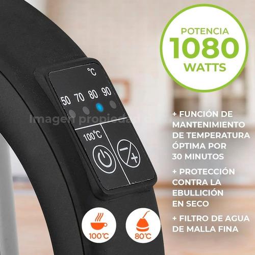 Pava Eléctrica Smart-tek 1,7 L Digital Sd2035a Envio Gratis