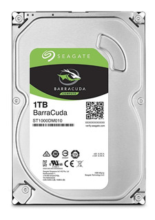 Disco Rigido Pc 1tb Seagate Barracuda Sata3 7200rpm Gamer
