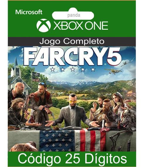Far Cry 5 Codigo 25 Digitos Oficial Para Xbox 12x No Cartão
