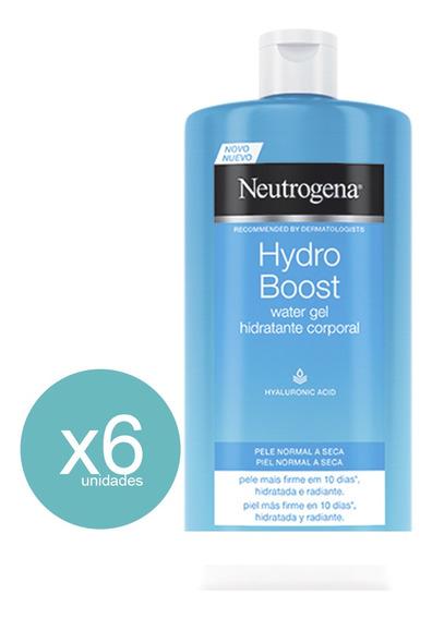 Hidratante Corporal Hydro Boost Gel 400ml Neutrogena 6 Unid