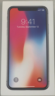iPhone X 256gb Gris Espacial - Apple Care - Case Rojo Apple