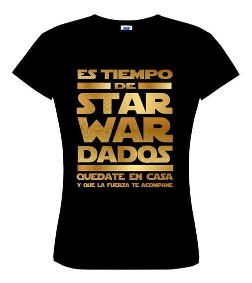 Playera Star Wars Cuarentena Coronaviru
