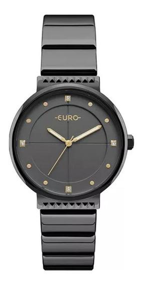 Relógio Euro Feminino Analógico Eu2035yob/4p - Preto