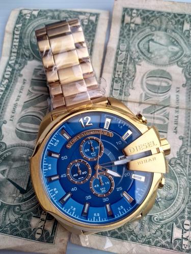 6661daf4e4e3 Relógio Diesel Dz7256 Banhado A Ouro 18k - Relógios De Pulso no ...